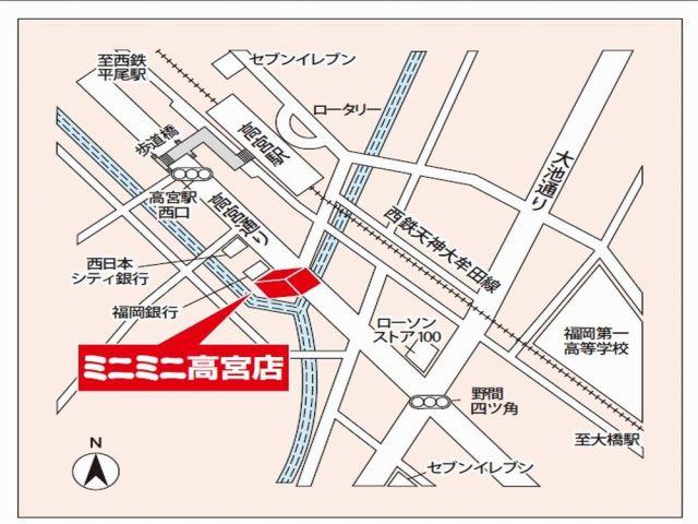 ミニミニ高宮店の地図