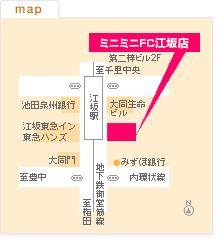FC江坂店の地図