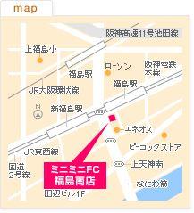 FC福島南店の地図