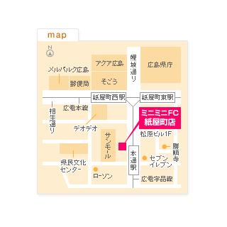 FC紙屋町店の地図