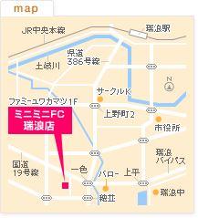 FC瑞浪店の地図