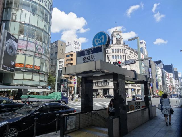 銀座駅のエリア情報2