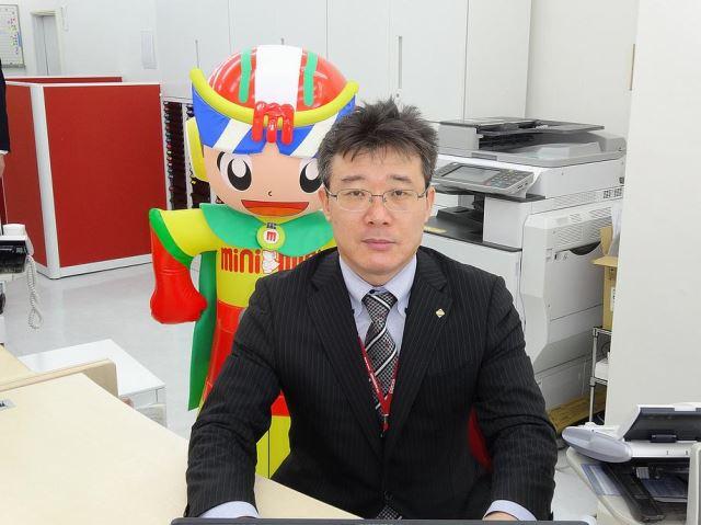 ミニミニ浄心店店長