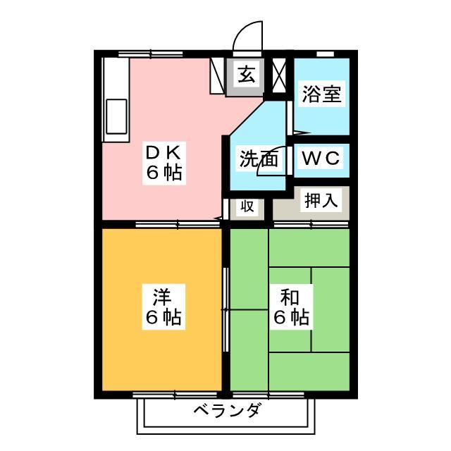 コーポ桜木の賃貸物件情報 | お部屋探しはミニミニで!賃貸住宅・賃貸マンションはお任せください!