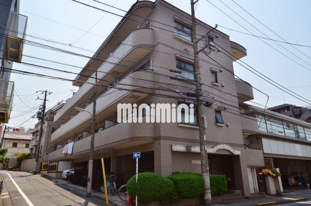 東京都品川区、五反田駅徒歩15分の築22年 4階建の賃貸マンション