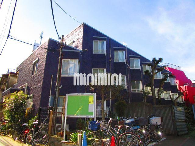 東京都目黒区、中目黒駅徒歩15分の築38年 3階建の賃貸マンション