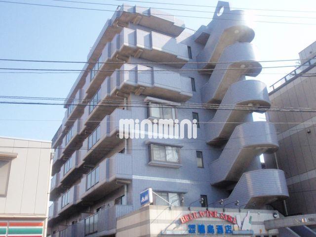 東京都大田区、大森町駅徒歩13分の築24年 6階建の賃貸マンション