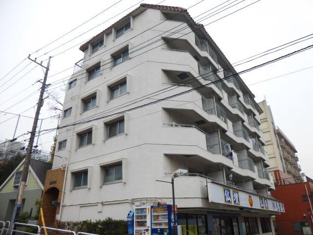 東京都品川区、大井町駅徒歩8分の築36年 6階建の賃貸マンション