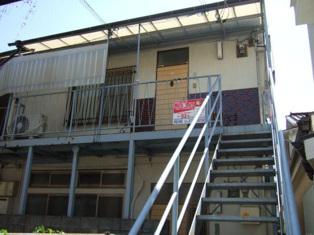 東京都目黒区、中目黒駅徒歩20分の築46年 2階建の賃貸アパート