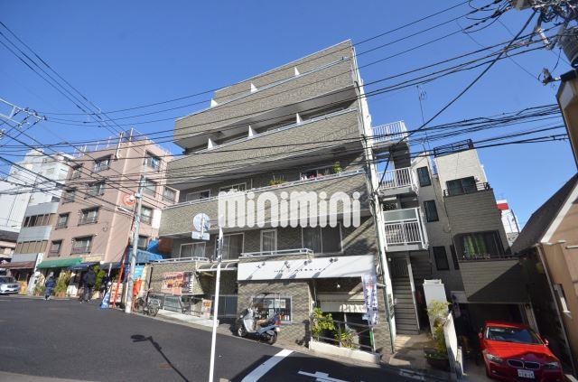 東京都品川区、目黒駅徒歩4分の築17年 4階建の賃貸マンション