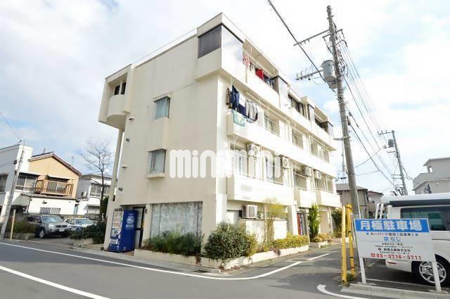 東京都目黒区、祐天寺駅徒歩14分の築36年 4階建の賃貸マンション