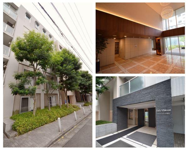 東京都品川区、目黒駅徒歩7分の築13年 7階建の賃貸マンション