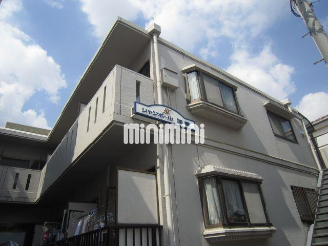 東京都大田区、久が原駅徒歩5分の築26年 2階建の賃貸マンション