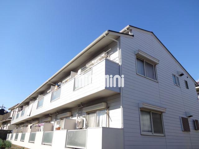 東京都目黒区、学芸大学駅徒歩17分の築23年 2階建の賃貸アパート