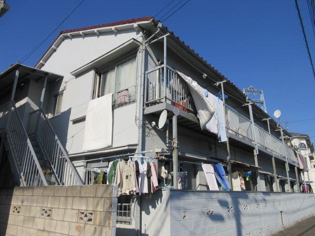東京都大田区、蒲田駅徒歩14分の築34年 2階建の賃貸アパート