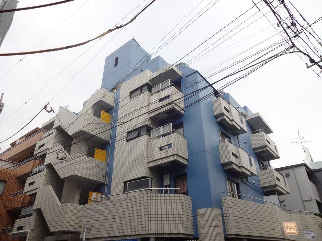 東京都目黒区、中目黒駅徒歩19分の築33年 3階建の賃貸マンション