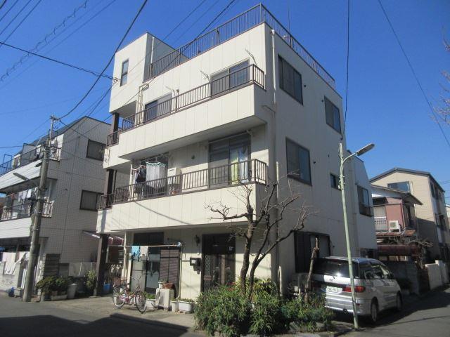 東京都大田区、池上駅徒歩6分の築26年 3階建の賃貸アパート