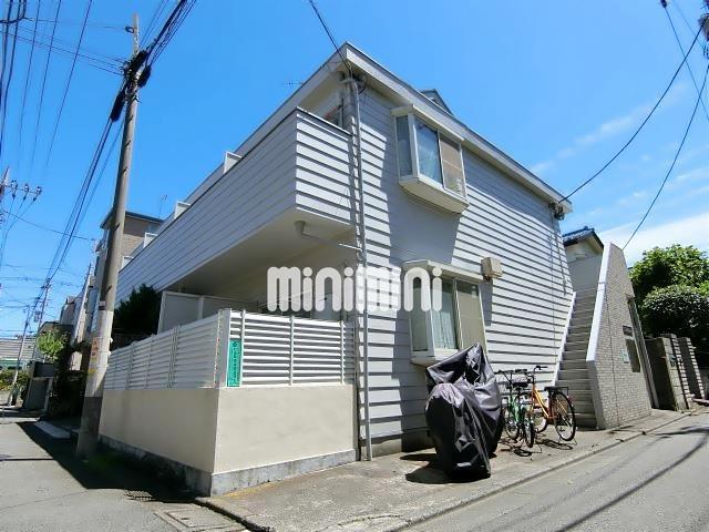 東京都大田区、多摩川駅徒歩19分の築25年 2階建の賃貸アパート