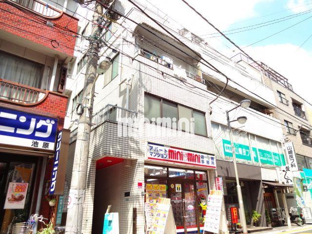 東京都目黒区、祐天寺駅徒歩12分の築29年 5階建の賃貸マンション