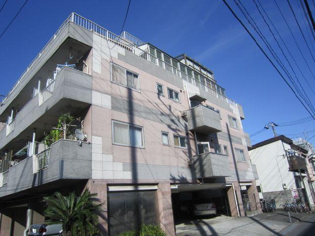 東京都大田区、蒲田駅徒歩20分の築39年 4階建の賃貸マンション