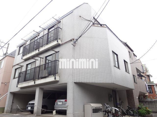 東京都品川区、学芸大学駅徒歩18分の築25年 3階建の賃貸マンション