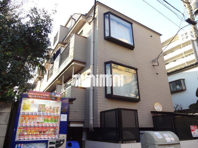 東京都目黒区、目黒駅徒歩20分の築25年 4階建の賃貸マンション