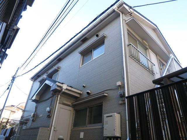 東京都大田区、大森駅徒歩12分の築46年 2階建の賃貸アパート
