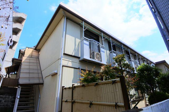 東京都大田区、多摩川駅徒歩19分の築30年 2階建の賃貸アパート