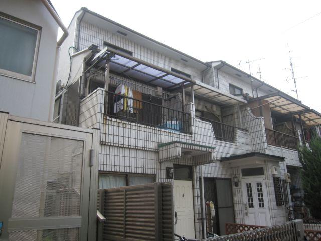 東京都目黒区、目黒駅バス10分東急バス 清水下車後徒歩1分の築33年 2階建の賃貸テラスハウス