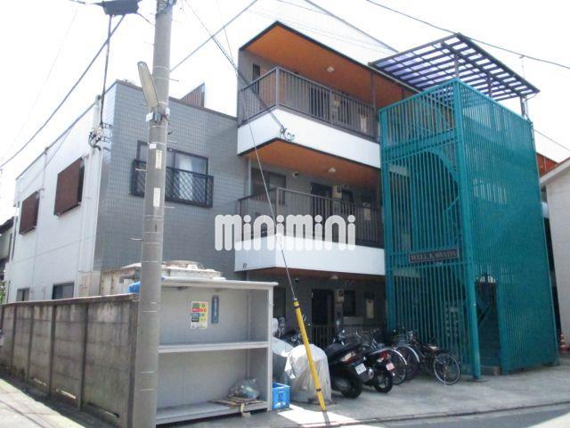 東京都大田区、京急蒲田駅徒歩25分の築24年 3階建の賃貸マンション
