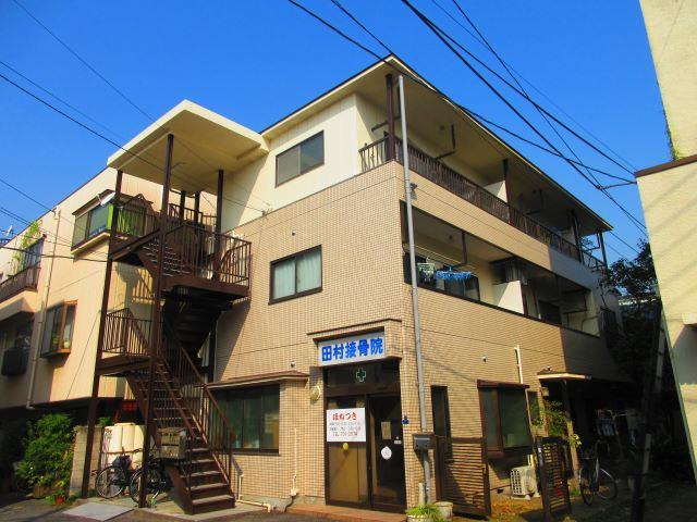 東京都大田区、京急蒲田駅徒歩17分の築29年 3階建の賃貸マンション