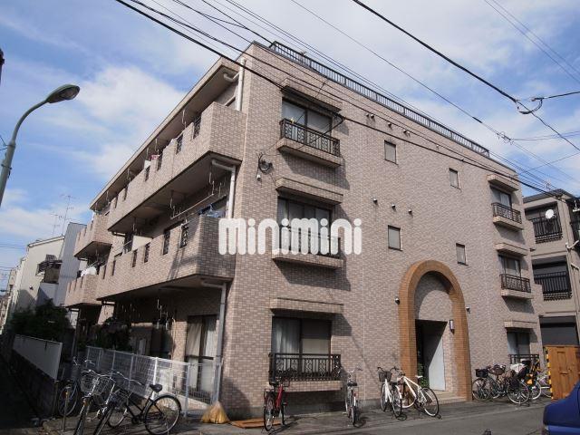 東京都大田区、大森駅徒歩15分の築25年 3階建の賃貸マンション