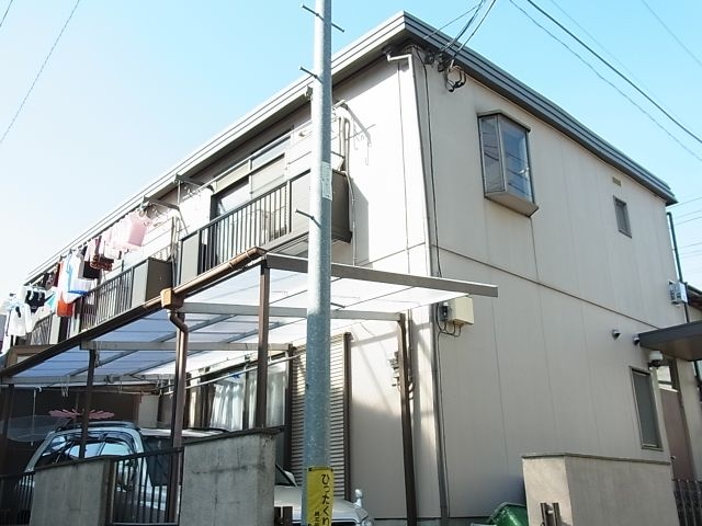 東京都目黒区、自由が丘駅徒歩12分の築34年 2階建の賃貸アパート