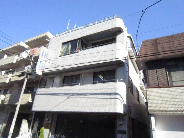 東京都大田区、久が原駅徒歩10分の築32年 3階建の賃貸マンション