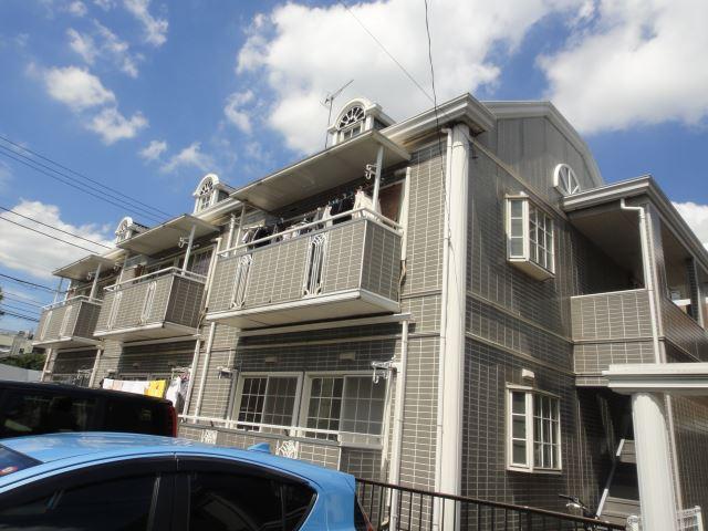 東京都世田谷区、梅ヶ丘駅徒歩3分の築25年 2階建の賃貸アパート