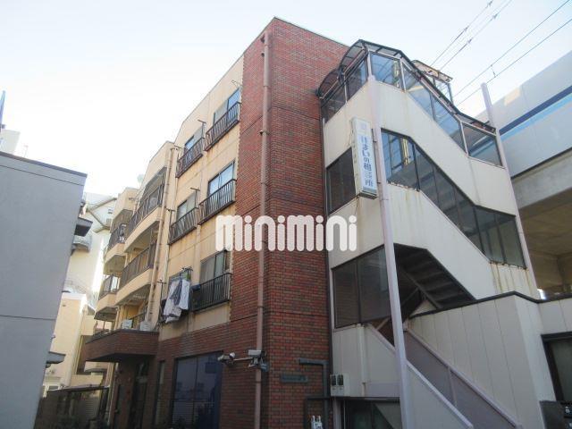 東京都大田区、蒲田駅徒歩22分の築33年 4階建の賃貸マンション