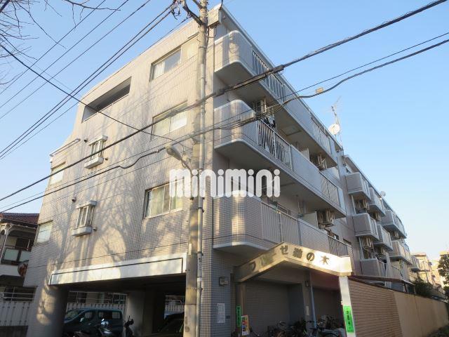 東京都大田区、久が原駅徒歩11分の築24年 4階建の賃貸マンション