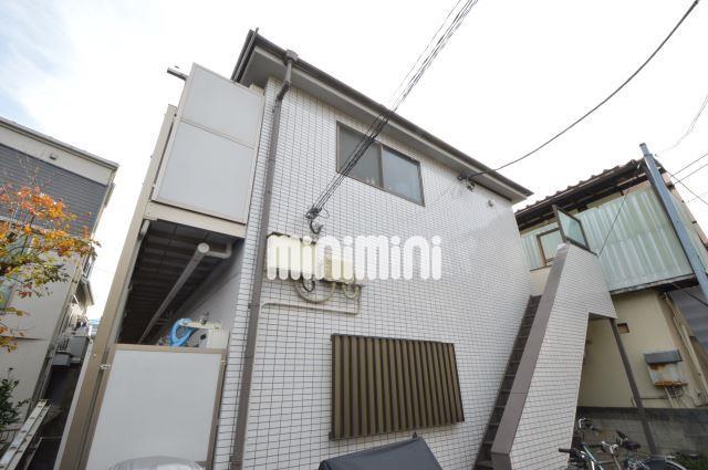 東京都目黒区、中目黒駅徒歩22分の築26年 2階建の賃貸アパート