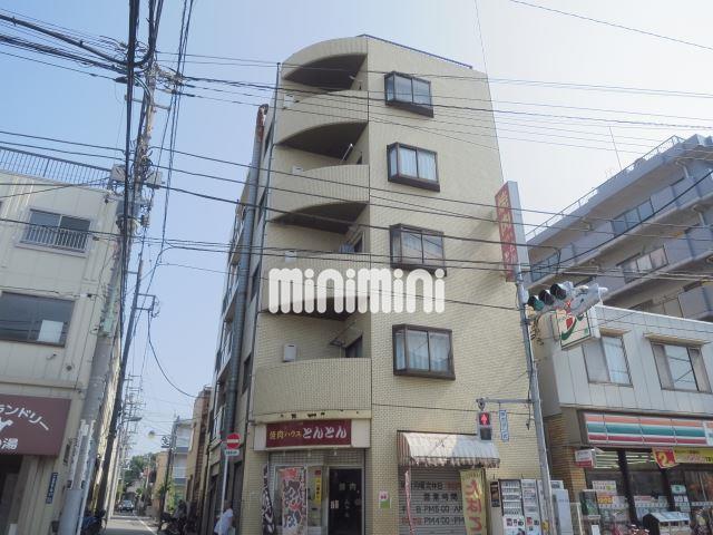 東京都大田区、大森町駅徒歩13分の築28年 5階建の賃貸マンション