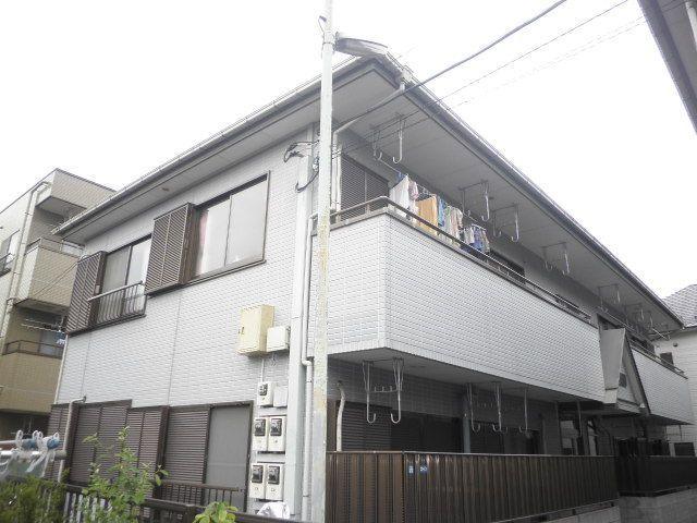 東京都大田区、大森町駅徒歩13分の築20年 2階建の賃貸アパート