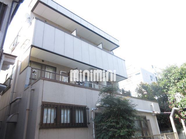 東京都大田区、蓮沼駅徒歩15分の築26年 3階建の賃貸マンション