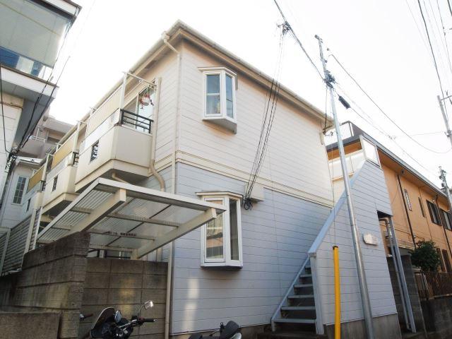東京都大田区、西大井駅徒歩20分の築26年 2階建の賃貸アパート