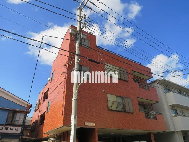 東京都大田区、大森町駅徒歩20分の築26年 3階建の賃貸アパート