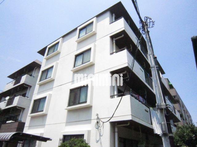 東京都大田区、京急蒲田駅徒歩19分の築28年 4階建の賃貸マンション