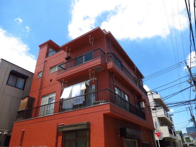 東京都大田区、大森駅徒歩12分の築35年 3階建の賃貸マンション