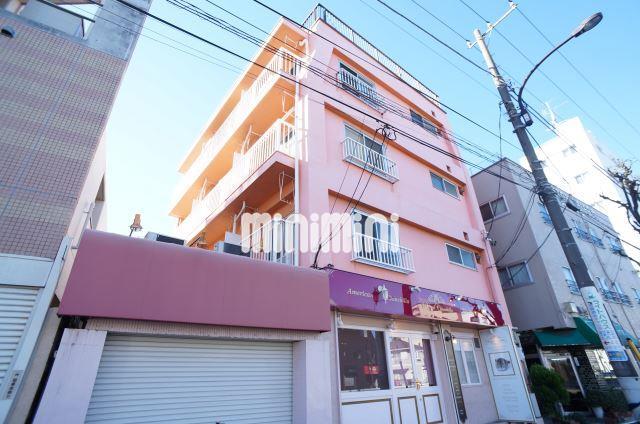 東京都大田区、田園調布駅徒歩6分の築45年 4階建の賃貸マンション