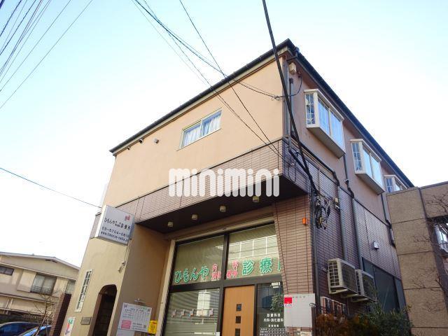 東京都目黒区、学芸大学駅徒歩11分の築40年 3階建の賃貸アパート