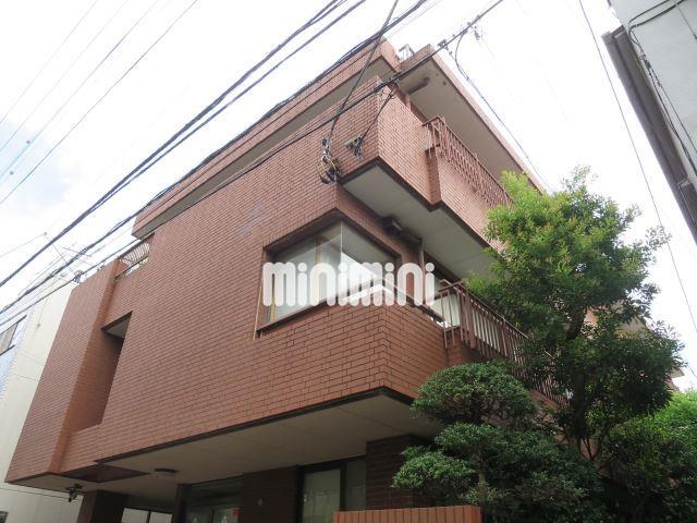 東京都大田区、大森駅徒歩18分の築35年 3階建の賃貸マンション