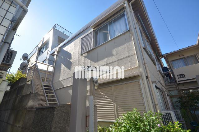 東京都目黒区、洗足駅徒歩1分の築35年 2階建の賃貸アパート