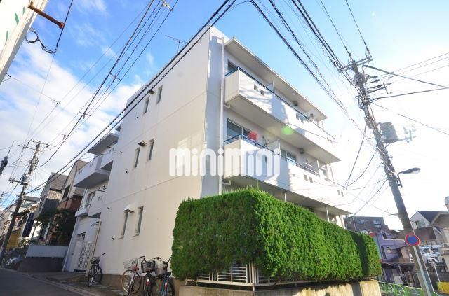 東京都目黒区、学芸大学駅徒歩15分の築27年 3階建の賃貸マンション